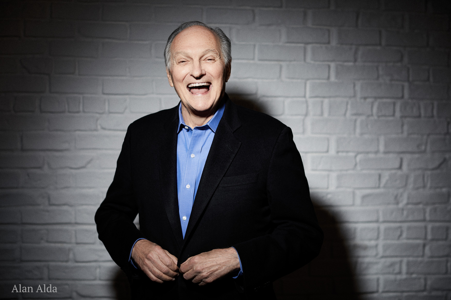 Alan Alda and Kathy Connell Portrait Session